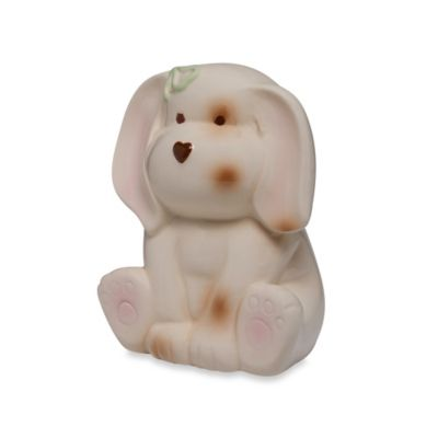 Argento Ceramic Puppy Bank in Beige