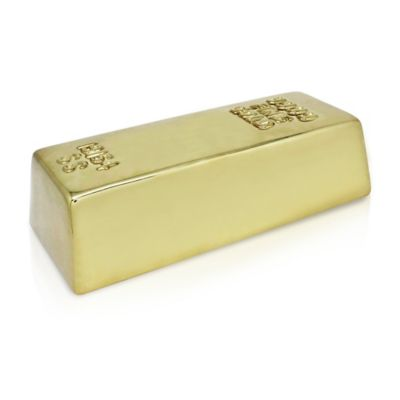 Argento Ceramic Gold Rush Bank in Gold