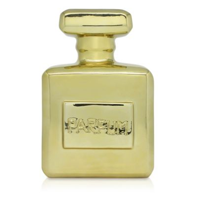 Argento Ceramic Parfum Bank in Gold