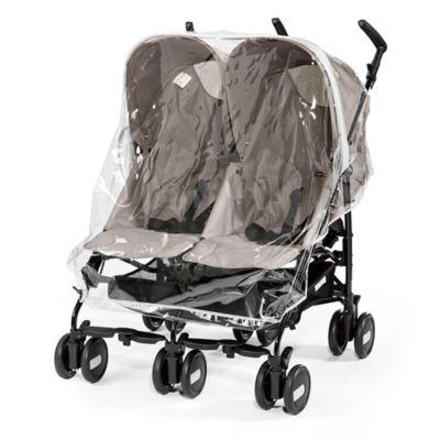 Stroller Accessories > Peg Perego Rain Cover for Pliko Mini Twin Stroller