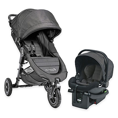 Baby Jogger 174 City Mini Gt Travel System In Charcoal Www