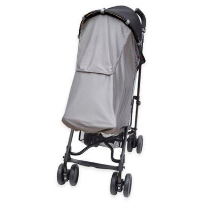 SKIP*HOP® Stroller Sun and Sleep Shade in Silver