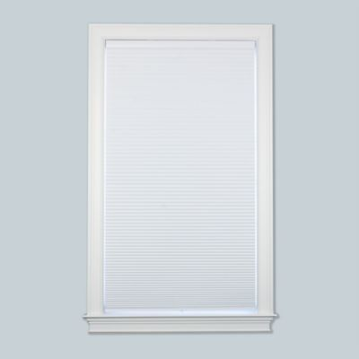 Baby Blinds Cordless Blackout Cellular 66-1/2-Inch x 72-Inch Shade in Snow