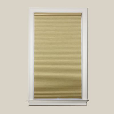 Baby Blinds Cordless Blackout Cellular 70-1/2-Inch x 72-Inch Shade in Wheat