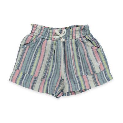 Roxy Size 6-12M Panama Striped Short in Multicolor