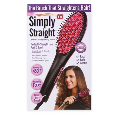 Simply Straight Ceramic Straightening Brush