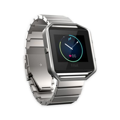 Fitbit® Blaze™ Metal Accessory Band in Silver