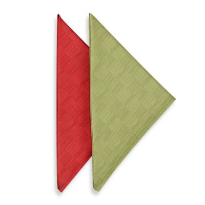 Mason Napkins in Red (Set of 4)