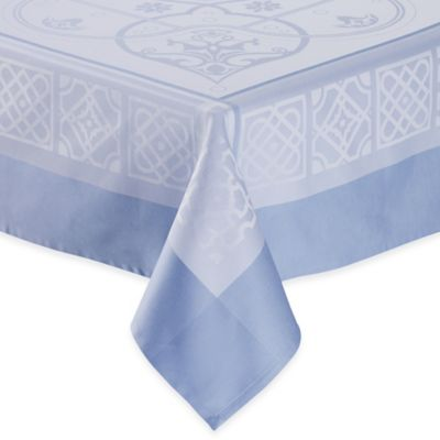 Cotton Blue Tablecloths