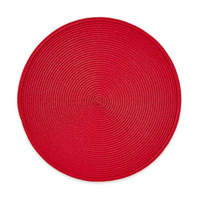 Buy Round Placemat In Lemon Grass From Bed Bath Amp Beyond