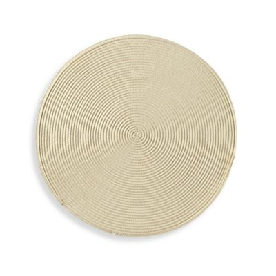 Round Placemat in Natural