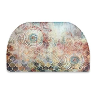 Relaxed Chef Boho Study 18-Inch x 30-Inch Kitchen Mat