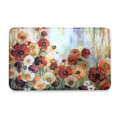 Decorative Cushioned Kitchen Floor Mats