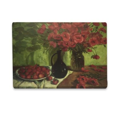 Red Still Life Laminated Placemat