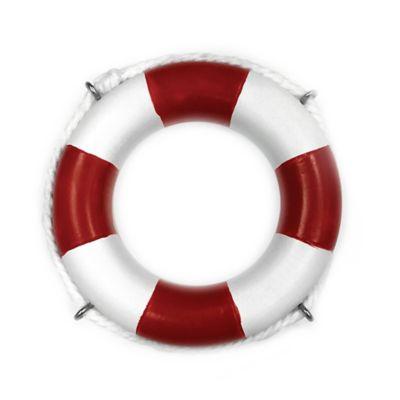 Life Preserver Napkin Ring in Red