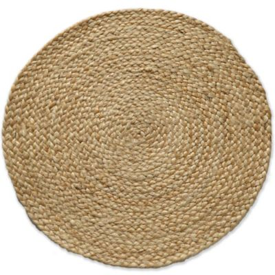 Natural Jute Round Placemat