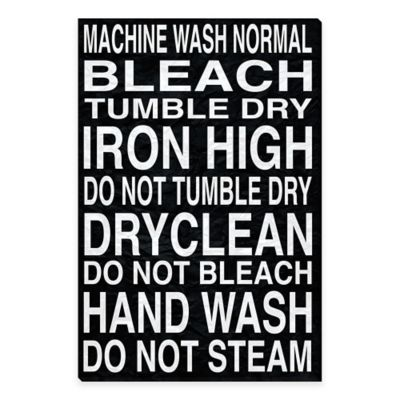 Home Decor Laundry Sign