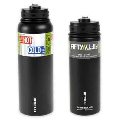 Double-Wall Vacuum Insulated 18 oz. Water Bottle in Stainless Steel