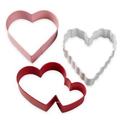 Wilton® 3-Piece Heart Cookie Cutter Set