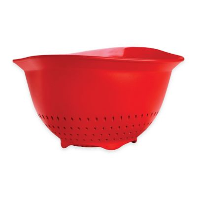 Cuisipro 3 qt. Colander in Red