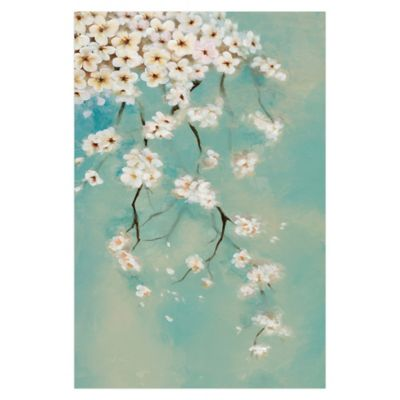 Dripping Blooms 24-Inch x 36-Inch Canvas Wall Art