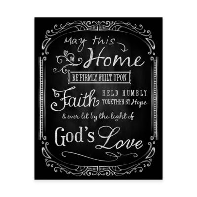 Lit by the Light of God's Love Canvas Wall Art