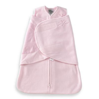 HALO® SleepSack® Newborn Swaddle Micro-fleece in Pink