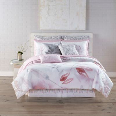 Kathy Davis Reflections Reversible King Comforter Set