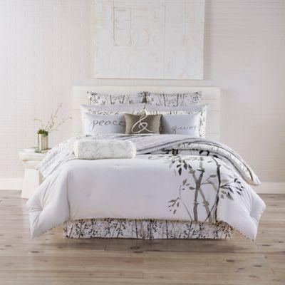 Kathy Davis Solitude Reversible Twin Comforter Set
