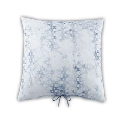 Quilted Pillow Shams Blue and White