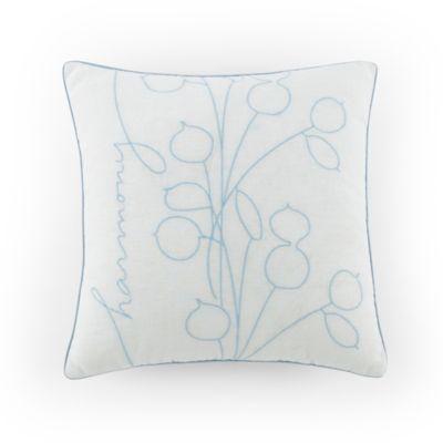 """Kathy Davis Tranquility """"Harmony"""" Throw Pillow"""