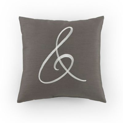Ampersand Square Pillow