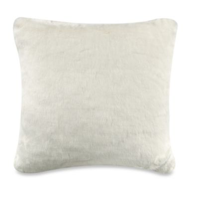 Anthology™ Gold Glam Faux Fur Square Throw Pillow