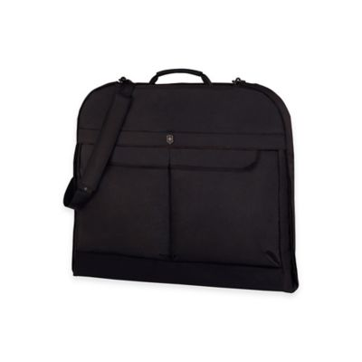 Victorinox® WERKS 5.0 Slim Garment Bag with Carrying Strap in Black