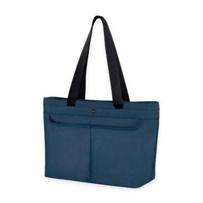 Victorinox® WERKS 5.0 Zippered Shoulder Bag in Navy