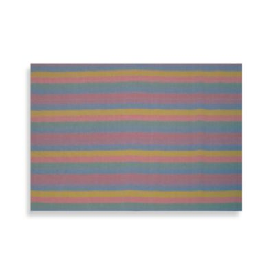 Fun Rugs 1-Foot 7-Inch x 2-Foot 5-Inch Pastel Delicate Rug