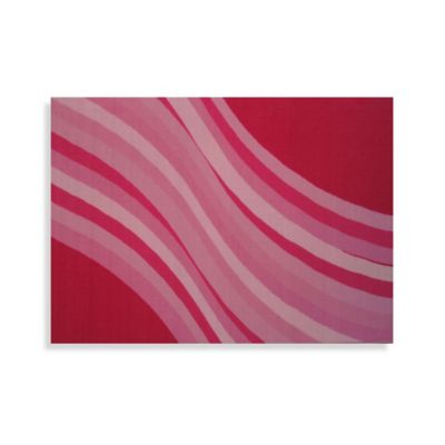 Fun Rugs® Wacky Pink Wave 1-Foot x 2-Foot Accent Rug