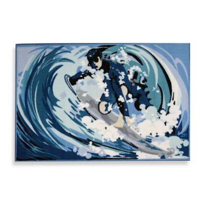 Fun Rugs™ 19-Inch x 29-Inch Surfin Rug