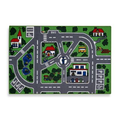 Fun Rugs® Streets 8-Foot x 11-Inch Area Rug