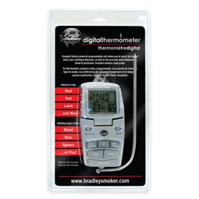 Bradley Smoker® Digital Smoker Thermometer