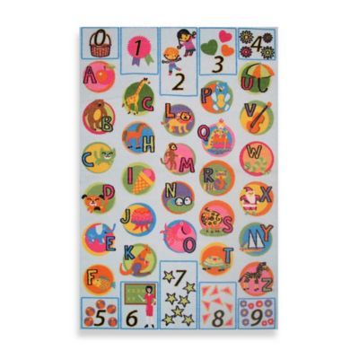 """Fun Rugs® """"I Know My ABCs"""" 1-Foot x 2-Foot Accent Rug"""