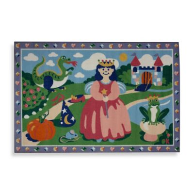 Fun Rugs™ Happily Ever After 1-Foot 7-Inch x 2-Foot 5-Inch Rug