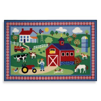 Fun Rugs™ Country Farm 1-Foot 7-Inch x 2-Foot 5-Inch Rug