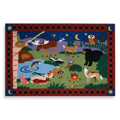 Fun Rugs™ Camp Fire Friends Area Rug
