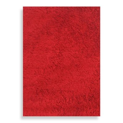 Fun Rugs™ 3-Foot 3-Inch x 4-Foot 10-Inch Shag Area Rug in Red