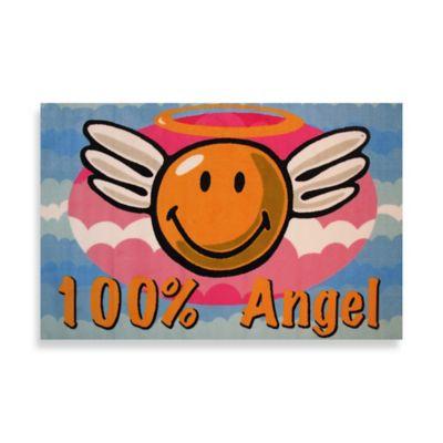 Fun Rugs™ 19-Inch x 29-Inch Smiley Angel Rug