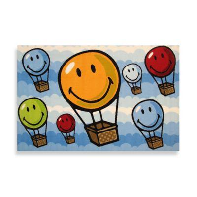Fun Rugs® Hot Air Balloon 3-Foot 3-Inch x 4-Foot 10-Inch Area Rug