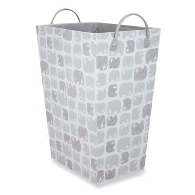 RGI Elephant Tapered Storage Tote in Grey