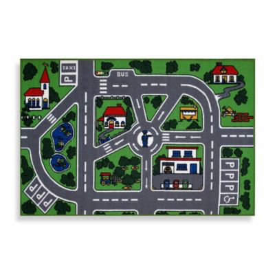 Fun Rugs® Streets 1-Foot 7-Inch x 2-Foot 5-Inch Accent Rug