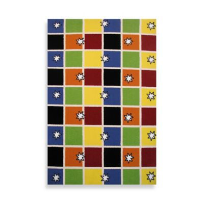 Fun Rugs™ 3-Foot 3-Inch x 4-Foor x 10-Inch Night Flash Area Rug